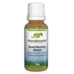Native Remedies Gmm001 Good Morning Mama For Morning Nausea During