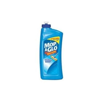 Reckitt Benckiser Consumer. Mop and glo triple action floor shine cleaner - 16 oz/bottle, 6 ea