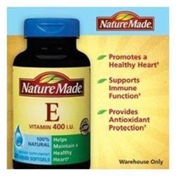 Nature Made Natural Vitamin E 400 IU - 225 Softgels