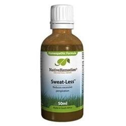 Native Remedies SWL001 Sweat-Less for Excessive Perspiration - 50ml