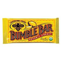 Bumble Bar 01350 Organic Lushus Lemon Energy Bar