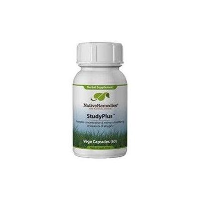 Native Remedies STU001 StudyPlus for Better Study Performance - 60 VegeCaps