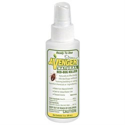 Cutting Edge Avenger Organic Bed Bug Travel Spray - 3 Ounces Spray - Pest Control