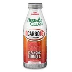 QCarbo Liquid Strawberry Mango 16 oz, Herbal Clean Detox