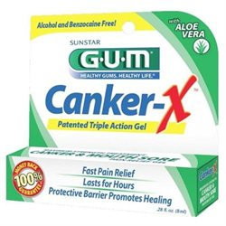 Butler G-u-m Oral Care Butler Gum Canker-x Maximum Strength Canker And Mouth Sore Pain