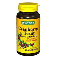 Good 'N Natural - Cranberry Concentrate With Vitamin C - 100 Softgels