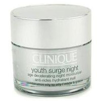 Youth Surge Night Age Decelerating Night Moisturizer - Combination Oily To Oily by Clinique