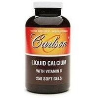 Carlson Laboratories Liquid Calcium - 250 Softgels - Calcium Combinations