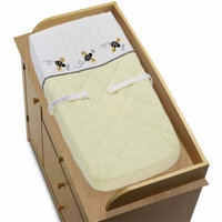 Sweet Jojo Designs Changing Pad Cover - Bumble Bee