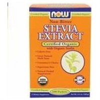 NOW Stevia Extract Packets (Organic)