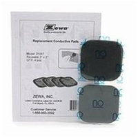 Zewa Replacement Conductive Pads, Model 21057 4 ea