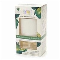 Aura Cacia Electric Aromatherapy Air Freshener, Refreshing Lime & Grapefruit 1 ea