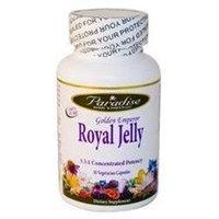 Paradise Herbs Golden Emperor Royal Jelly 30 Vegetarian Capsules