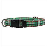 Yellow Dog Design TG100TC Tartan Green Standard Collar - Teacup