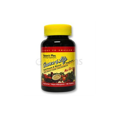 Nature's Plus - Source Of Life Mini-Tabs - 90 Tablets