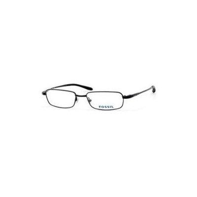 Fossil Evan Eyeglasses-In Color-Brown (0DL6)-Size-49/16/140