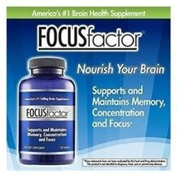 FocusFactor Memory Concentration Formula - 150 Tablets