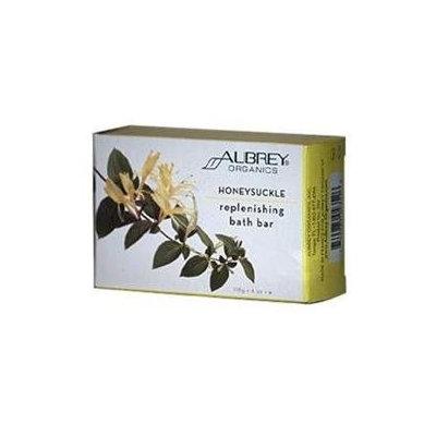 Aubrey Organics Honeysuckle Replenishing Bath Bar