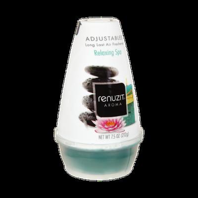 Renuzit Aroma Relaxing Spa Adjustables Long Last Air Freshener