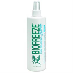 BIOFREEZE Pain Relieving Spray with ILEX, 16 fl oz