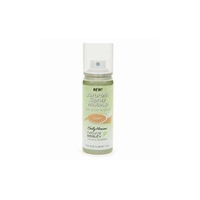 Sally Hansen Natural Beauty Airbrush Spray Makeup, Deep
