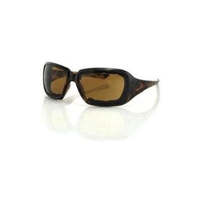 Balboa ESCA002 Scarlet Sunglasses - Tortoise Frame- Brown Lens- Open Cell Foam