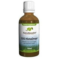 Native Remedies SHD001 SOS HistaDrops for Quick Allergy Relief - 50ml