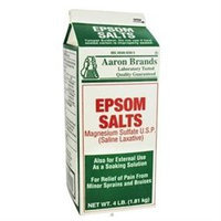 Aaron Medical Aaron Industries 40425 1x 4 Epsom Salt