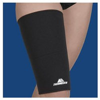 Thermoskin THERMOTHIGHLARGE Clam Large Thigh Hamstring Support Black