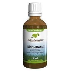 Native Remedies KBO001 KiddieBoost for Immune System Health in Children - 50ml