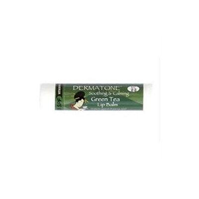 Dermatone 371705 Green Tea Flavor Lip Balm Spf 23