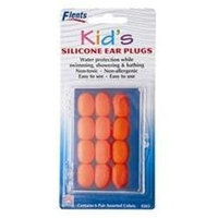 Flents Ear Plugs Ear Plugs Kids Soft Silicone - 6 Pairs