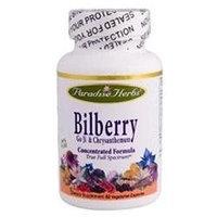 Paradise Herbs Bilberry Go Ji And Chrysanthemum - 60 Vegetarian Capsules