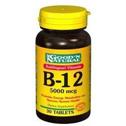 Good 'N Natural - Sublingual Vitamin B-12 5000 mcg. - 30 Tablets