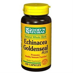 Good 'N Natural - Echinacea & Goldenseal 450 mg. - 100 Capsules Formerly Plus