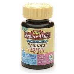 Nature Made Prenatal Vitamins Soft Gels with DHA