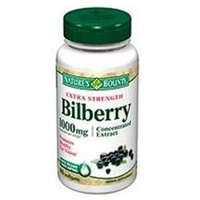 Nature's Bounty Extra Strength Bilberry Extract 1000mg 60 softgels