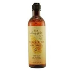 Healing Garden Organics Honey Body Wash, 8 oz