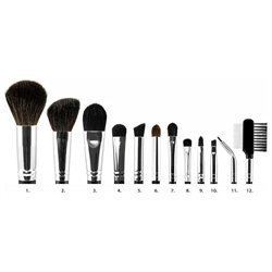 Coastal Scents 12 Piece Cosmetic Brush Set