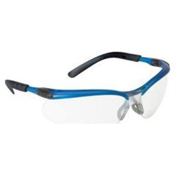 3M Company MM11471 Clear Anti-Fog Lens Ocean Blue Frame Safety Glasses