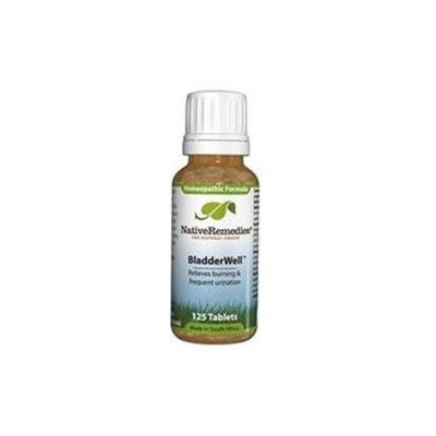 Native Remedies BLW001 BladderWell to Improve Bladder Health - 125 Tablets