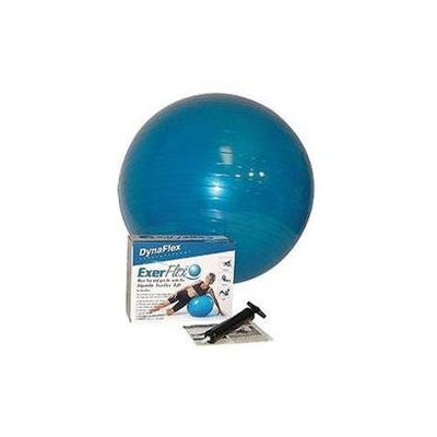 DFX Sports & Fitness Exerflex Kit w/o DVD Transparent Blue #20015 - Home Health