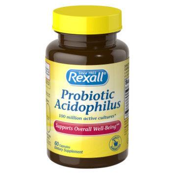 Rexall Probiotic Acidophilus Capsules - 60 ct