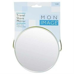 Paris Presents Round Travel Shave Mirror V589 - Pack of 6