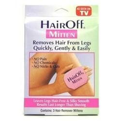Hair Off Hair Remover Mitten, 3 in 1