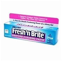 Fresh & Brite Fresh and Brite Fresh 'N Brite Denture Cleaning Paste