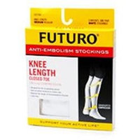Futuro Anti-Embolism Stockings, Knee Length, Closed Toe-XL