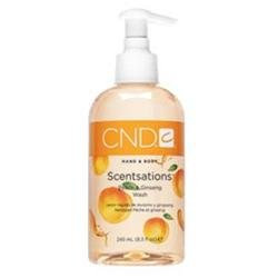 CND Scentsations Peach & Ginseng Body Wash