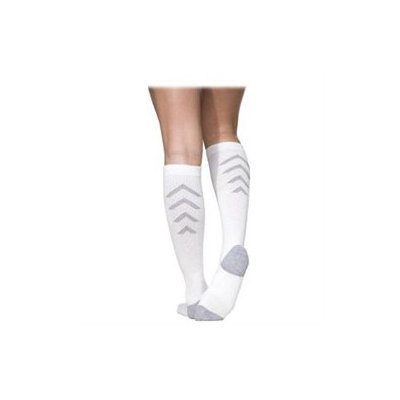 SIGVARIS Athletic Recovery Sock - Men's White, C