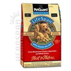 Petguard Lifespan Dry Dog Food Chicken Chicken 38 Lb